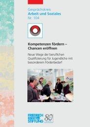Kompetenzen fördern - Chancen eröffnen - Bibliothek der Friedrich ...