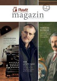 Plautz Magazin HW 2020