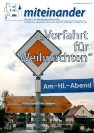 Pfarrbrief November 2012, Ausgabe 80 - Katholische Pfarrei ...