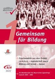 jambus Jugendarbeit macht Bildung und Schule ... - BDKJ-Passau