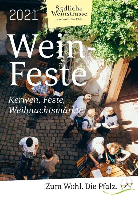 Weinfestkalender SÜW 2021