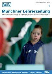 MLZ-Ausgabe Nr. 4 - 2010 - MLLV