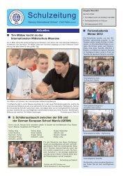Tagebuchauszüge - Saxony International School