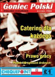 Oferta specjalna zobacz w œrodku - Goniec Polski