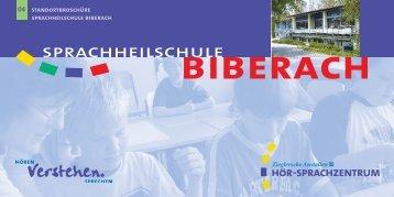 schulkindergarten und grundschule - Hör-Sprachzentrum Altshausen
