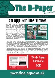 Fourth Edition of The D-Paper October 9th, 2020