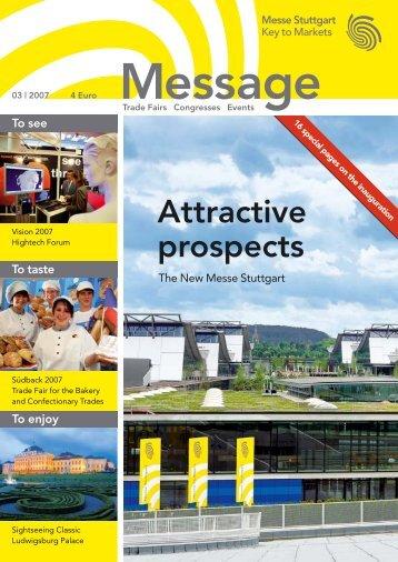 Message issue 3/2007 - Messe Stuttgart