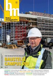 BAUSTELLE CAMPUS WU - Bauweb
