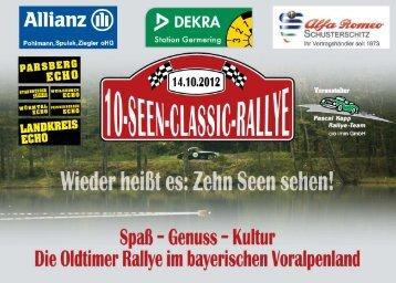 Allianz® PDEKRA m; S; - Pascal Kapp Oldtimer-Rallyes