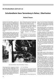 Schullandheim Haus Tannenberg in Rehau / Oberfranken - Verband ...