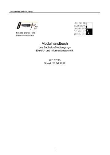 Informatik 2 - Hochschule Regensburg