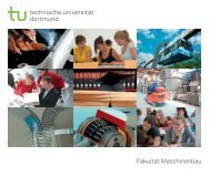 Ing .de - Fakultät Maschinenbau - TU Dortmund