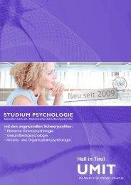 Bachelor Studium Psychologie