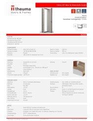 Technische specificaties MonoSafe set