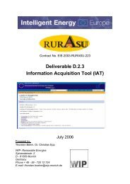 Deliverable D.2.3 Information Acquisition Tool (IAT) - RURASU