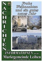 Datei herunterladen - .PDF - Marktgemeinde Leiben