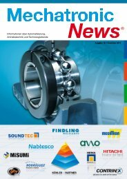 Imp re ssu m Mechatronic News - koehler-partner.de