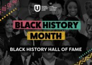 Black History Month Hall Of Fame