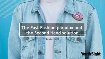 The Fast Fashion Paradox and the Second Hand Solution eBook