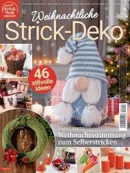 Weihnachtliche Strick-Deko MW019