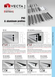 VECTA Design Aluminum Profiles Catalog