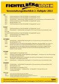 Veranstaltungsplan Fichtelbergbahn - Seite 2