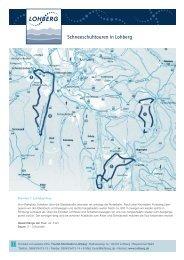 Karte Schneeschuh-Touren