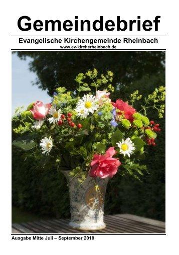 Evangelische Kirchengemeinde Rheinbach