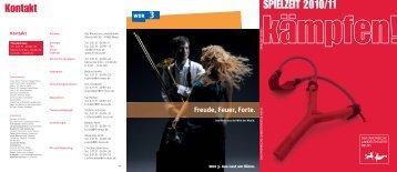 SPIELZEIT 2010/11 - Rheinisches Landestheater Neuss