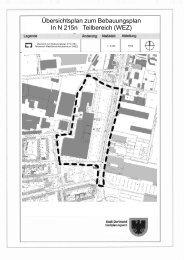 Übersichtsplan zum Bebauungsplan In N 215n ... - Digistadtdo