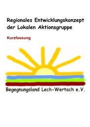 Regionales Entwicklungskonzept der Lokalen Aktionsgruppe