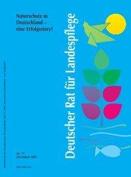 Naturschutz in Deutschland - Deutscher Rat für Landespflege