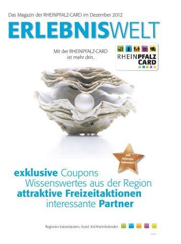 Weihnachtliche Vorteilspreise - Rheinpfalz