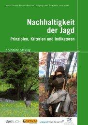 Nachhaltigkeit der Jagd - Umweltbundesamt