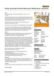 Ruhige, geräumige 4-Zimmer-Wohnung in Waldkraiburg - Superpreis