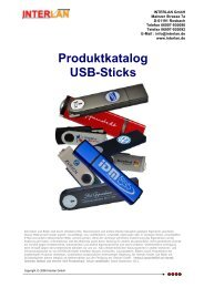 Produktkatalog USB-Sticks - USB Sticks mit Firmenlogo