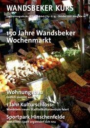 Editorial Design - SPD Wandsbek-City