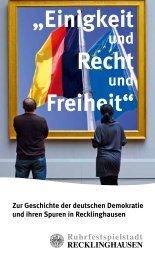 """""""Einigkeit Recht Freiheit"""" - Integrationsportal Recklinghausen"""