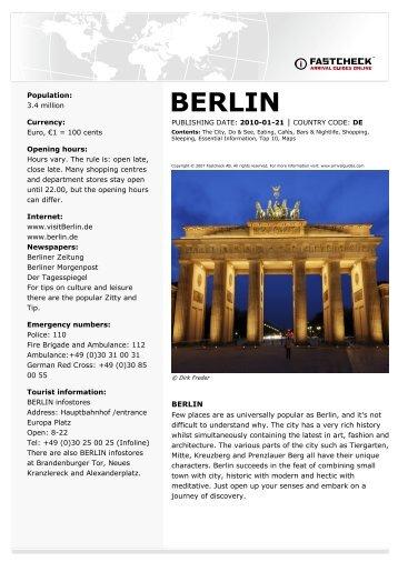 BERLIN - Student Tours