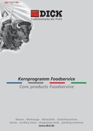 Kernprogramm Foodservice Core products Foodservice - Dick - Kniver