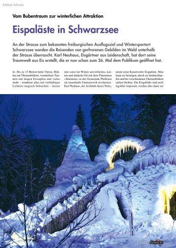 Eispaläste in Schwarzsee - ADLER Medien