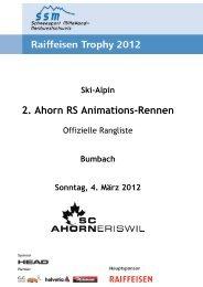 Ski-Alpin 2. Ahorn RS Animations-Rennen - Regionalverband ...