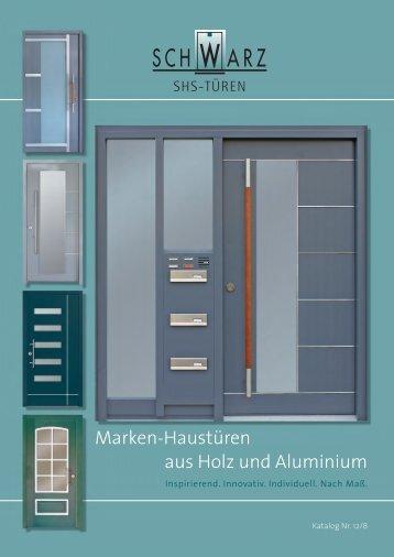 Download aktueller SCHWARZ Katalog 2012 - SHS-Türen