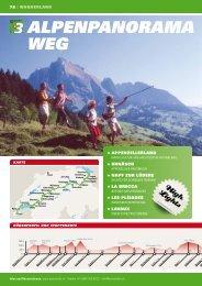 AlpENpANORAMA WEG - Swiss Trails