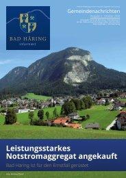 Bad Häring informiert 03/2020