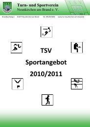 Turn- und Sportvere - TSV Neunkirchen am Brand