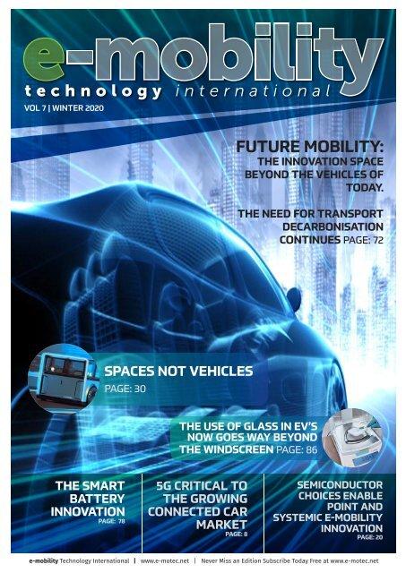 E-mobility Technology Winter 2020