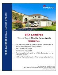 Missoula Residential Update - September 2020