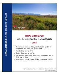 Lake County Land Update - September 2020