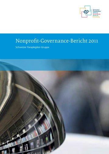 Nonprofit-Governance-Bericht 2011 (PDF, 1.1 MB) - Paranet